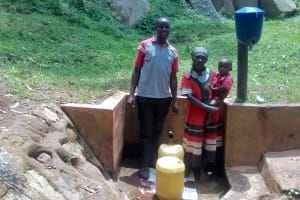 The Water Project: Minyika Community, Wuluvai Spring -