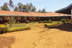 The Water Project: Shanjero Primary School -  Classrooms