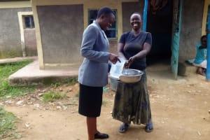 The Water Project: Shitungu Community B, Charles Amala Spring -  Hand Washing