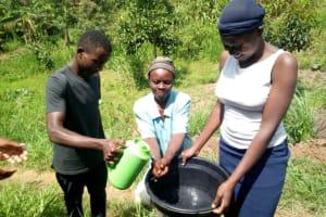 The Water Project: Handidi Community, Matunda Spring -  Hand Washing