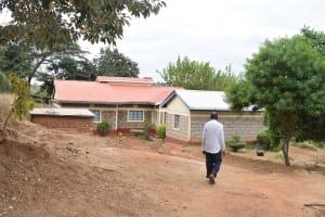 The Water Project: Kasioni Community -  Richard Makau Household
