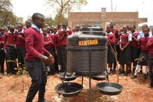 The Water Project: Uvaani Secondary School -  Hand Washing Training