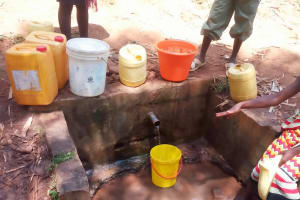 The Water Project: Eshitowa Community -  Current Water Sources
