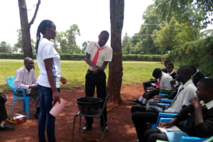 The Water Project: Evojo Secondary School -  Hand Washing