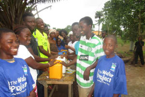 The Water Project: New London, 9 Jalloh Street -  Hand Washing Stations