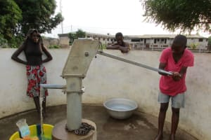 The Water Project: #2 off Swarray Dean Street New Well Project -