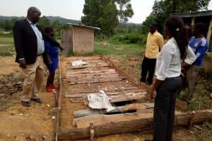 The Water Project: Musunji Primary School -  Latrine Pit