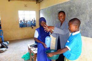 The Water Project: Malaha Primary School -  Hand Washing