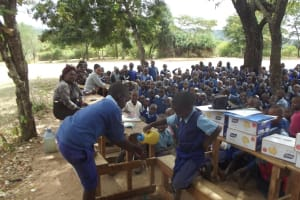 The Water Project: Ngaa Primary School -  Training