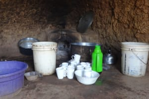 The Water Project: Matete Girls High School -  Water Storage