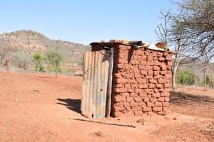 The Water Project: Katuluni Community -  Latrine
