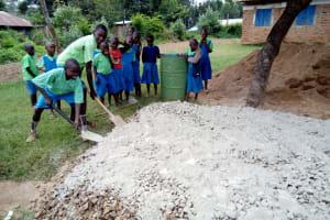 The Water Project: Musunji Primary School -  Gravel