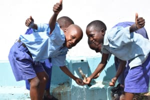 The Water Project: Ngaa Primary School -  Clean Water