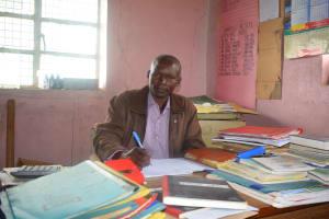 The Water Project: Kwa Kaleli Primary School -  Headteacher Bernard Wambua