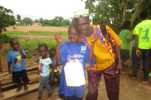 The Water Project: New London, 9 Jalloh Street -  Hand Washing