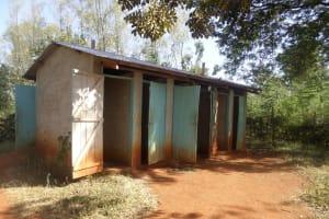 The Water Project: Lureko Girls Secondary School -  Latrines
