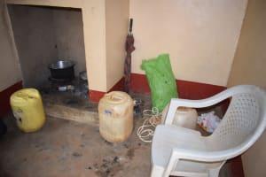 The Water Project: Kasioni Community -  Kitchen