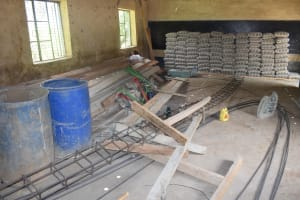The Water Project: Ngaa Primary School -  Tank Materials