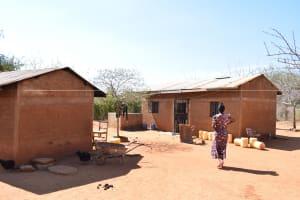 The Water Project: Katuluni Community -  Kasau Household
