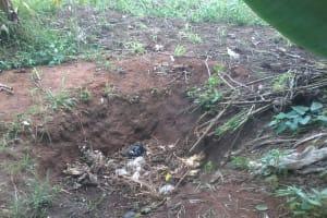 The Water Project: Rubani-Kyawalayi Community -  Garbage Disposal