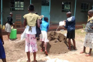 The Water Project: Esibuye Primary School -  Students Delivering Water