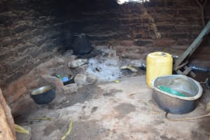 The Water Project: Nzalae Community A -  Agnes Kitchen