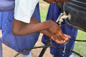 The Water Project: Ngaa Primary School -  Hand Washing Stations