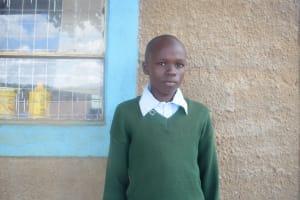 The Water Project: Kwa Kaleli Primary School -  Shadrack Kioko