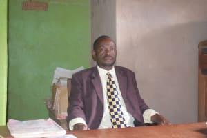 The Water Project: Kyanzasu Primary School -  Headteacher Daniel Mutinda