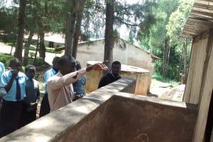 The Water Project: Friends Emanda Secondary School -  Latrine Maintenance Training