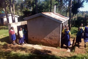 The Water Project: Gidagadi Primary School -  Girl Latrines