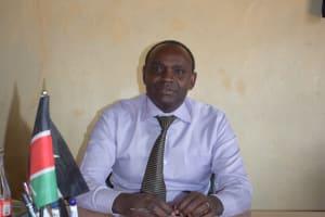 The Water Project: Kyanzasu Secondary School -  Headteacher Geoffrey Mbaluto