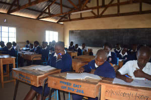 The Water Project: Kithaasyu Secondary School -  Students In Class