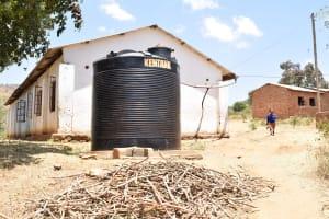 The Water Project: Kivani Primary School -  Plastic Tank