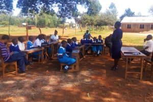 The Water Project: Mwiyenga Primary School -  Training