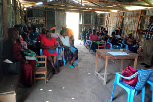The Water Project: Shiamboko Community, Oluchinji Spring -  Training