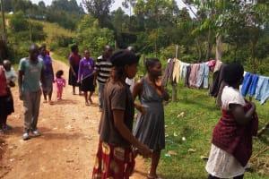 The Water Project: Mwiyala Community, Benard Spring -  Transect Walk