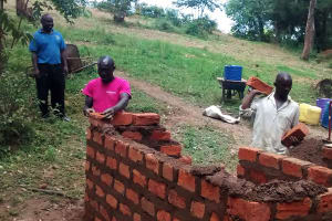 The Water Project: Chandolo Primary School -  Construction