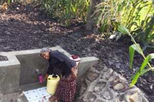 The Water Project: Mwiyala Community, Benard Spring -  Clean Water
