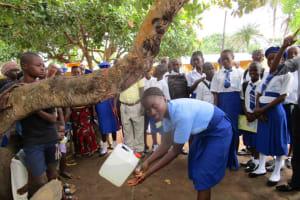 The Water Project: Kulufai Rashideen Secondary School -  Hand Washing Training