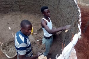 The Water Project: Tulon Secondary School -  Tank Construction
