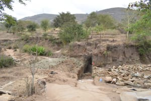The Water Project: Ilinge Community B -  Trenching