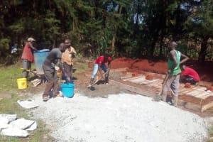 The Water Project: Tulon Secondary School -  Latrine Construction