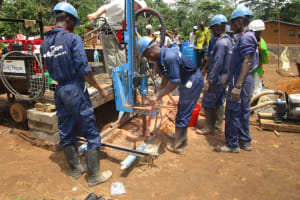 The Water Project: Baya Community -  Drilling