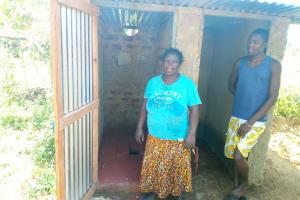 The Water Project: Shiamboko Community, Oluchinji Spring -  Sanitation Platform
