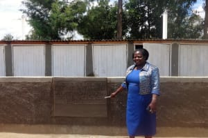The Water Project: Matete Girls High School -  Finished Latrines