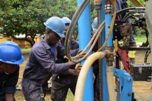 The Water Project: Kulufai Rashideen Secondary School -  Drilling