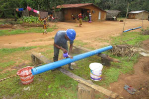 The Water Project: Baya Community -  Casing