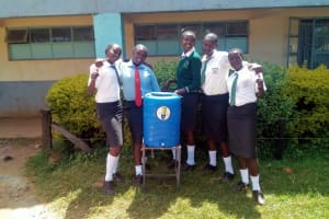 The Water Project: Tulon Secondary School -  Hand Washing Station