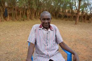 The Water Project: Kithuluni Community A -  Pius Kavila